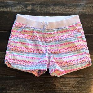 Toddler Girls Cherokee Multi Color Print Shorts